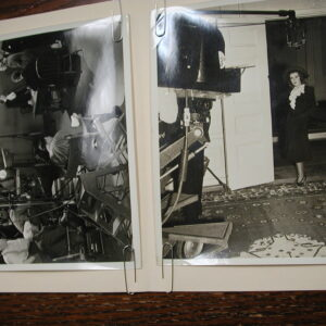 JOAN BLONDELL Back in Circulation original photos set of two