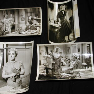 Barbara Stanwyck 4 original black white 8 x 10 movie photos