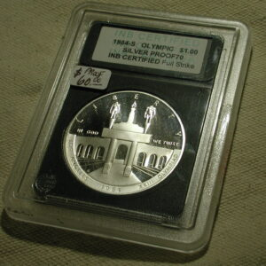 1984-S OLYMPIC Silver Proof