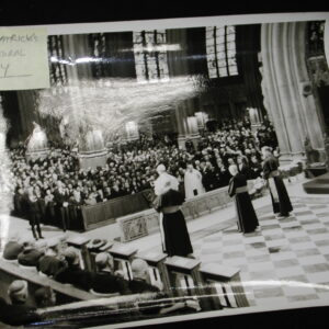 St. Patrick's Cathedral N.Y Pope Paul VI visit original photo