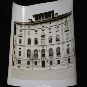 Columbia University Casa Italiano New York City old original photo