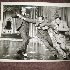 Fred Astaire , Peter Lorre, and Janis Padge Silk Stockings Three Photos
