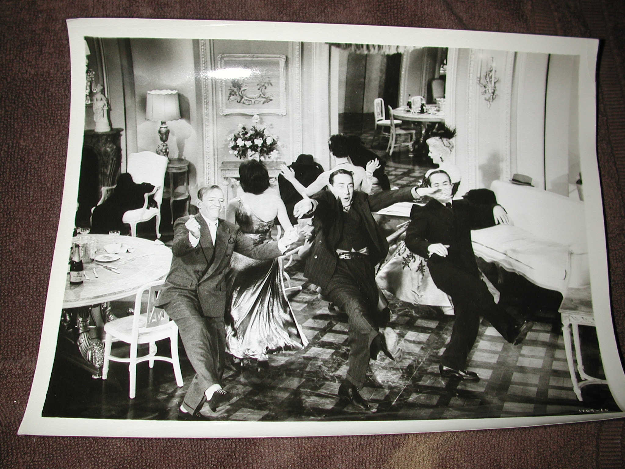 Miraculous Fred Astaire Peter Lorre And Janis Padge Silk Stockings Three Photos Download Free Architecture Designs Grimeyleaguecom