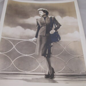 Claudette Colbert Without Reservations Best Dressed Woman