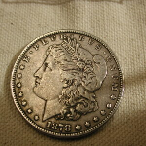 1878 U.S Morgan Silver Dollar Extra Fine