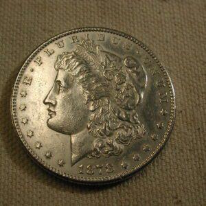 1878-CC U.S Morgan Silver Dollar About Uncirculated