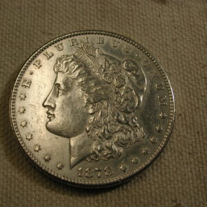 1878-S U.S Morgan Silver Dollar Choice Uncirculated