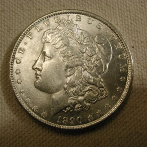1890 U.S Morgan Silver Dollar Choice Uncirculated
