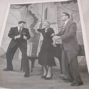 "Dick Shawn, Judy Holliday, Steve Allen in ""Good Times"" One Photo"