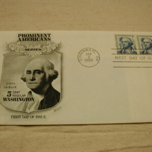 U.S Stamp George Washington 1966 First Day Issued