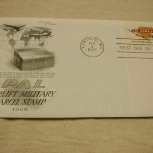 1968 Airlift Military Parcel Stamp First Day Issued