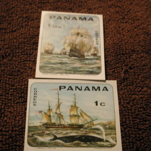 Panama #485 to 85E NH Imperf and 485F