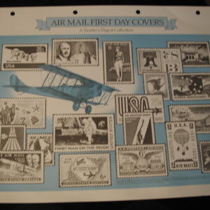Air Mail Covers1970's  all Cached and Unaddressed 12 Covers