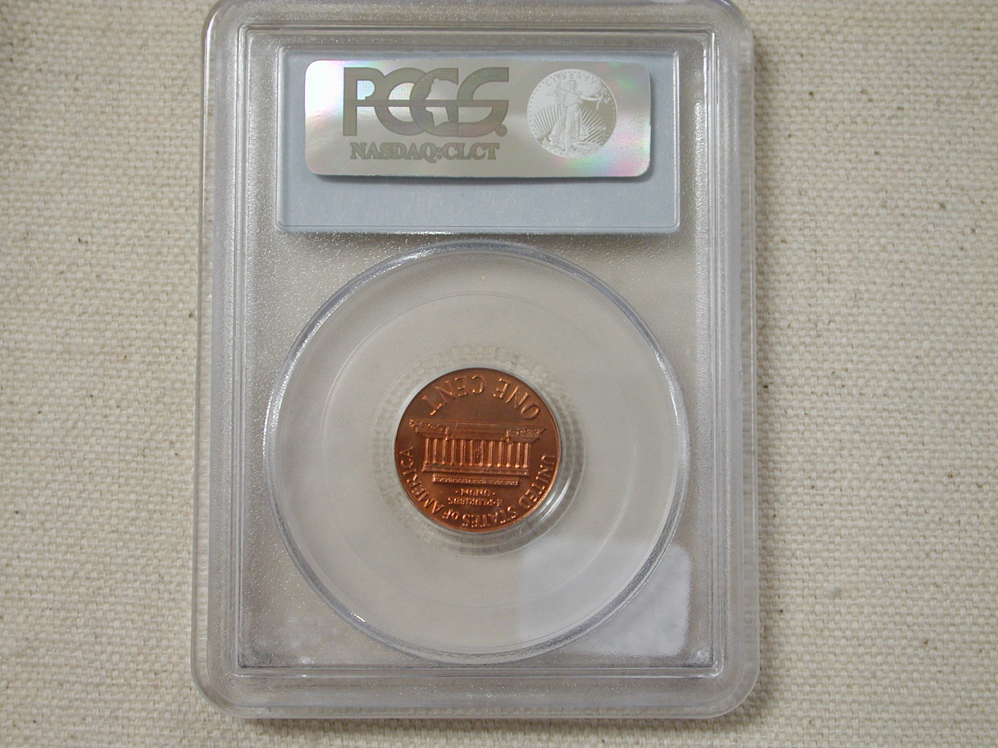 1972 Double Die Penny PCGS MS65 Red DDO FS-101