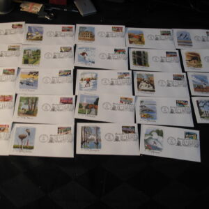 2002 Greetings from America Complete Set of US 50 States First Day Covers