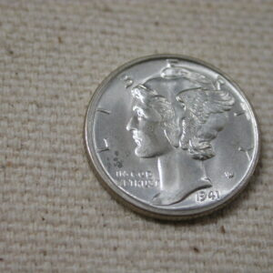 1941-S Mercury Dime Gem Choice UNC full split bands FSB