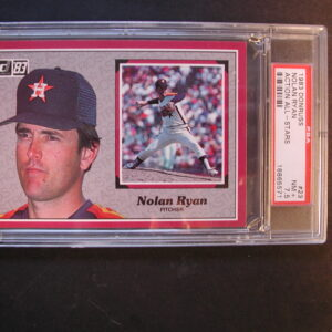 1983 Nolan Ryan Donruss #23 Action All Stars PSA NM+ 7.5