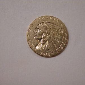 1915 US Indian $2 1/2 gold Uncirculated