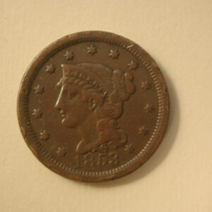 1853 U.S Large Cent Very Fine
