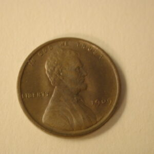 1909-VDB U.S Lincoln Wheat Cent Choice Uncirculated+