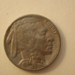 1934-D Buffalo Nickel 5 Cent VF