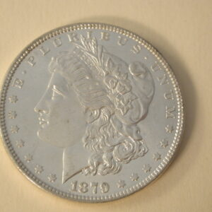 1879 U.S Morgan Silver Dollar Choice Uncirculated