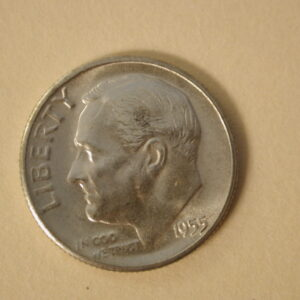 1955-S U.S Roosevelt Dime Choice Uncirculated