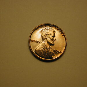1954 Red U.S Lincoln Wheat Cent Proof