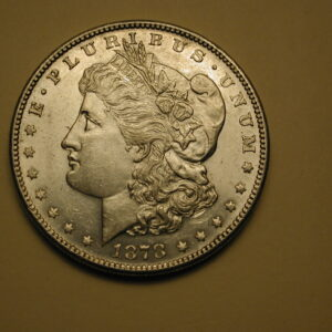 1878-S U.S Morgan Silver Dollar Uncirculated