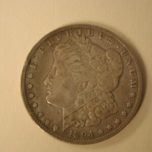 1894-O U.S Morgan Silver Dollar Very Fine