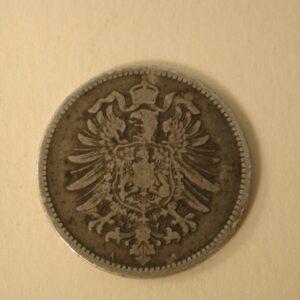 1914-A Germany Empire 1 Mark Extra FineKM#14