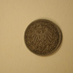 German Empire 1/2 Mark Fine- Extra Fine