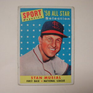 1958 Topps #476 Stan Musial