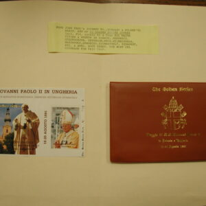 Pope John Paul II -The Golden Series-Trip to Hungry & Poland 11 Covers 1991
