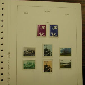 1975 Ireland Complete Set Mounted Stamps Mint
