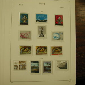 1976 & 1977 Complete MINT Ireland Mounted Stamps