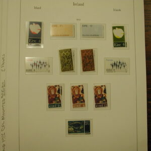 1972 Ireland MINT Complete Mounted Stamps