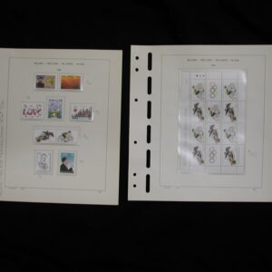 1988- Ireland Mounted Stamps - Mint