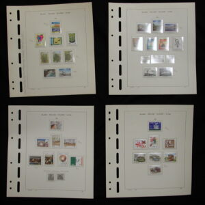 1986-1987- Ireland Mounted Stamps- Mint