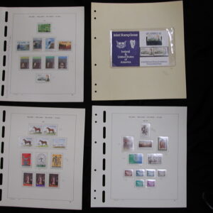 1981-1983- Ireland Mounted Stamps - Mint