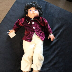 "Claire-Marie Porcelain 24"" Doll New no box"
