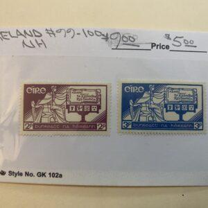 Ireland Stamp #99-100 NH