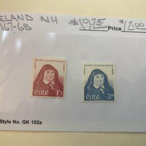 Ireland Stamp #167-68 NH