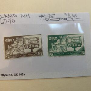 Ireland Stamp #169-70 NH